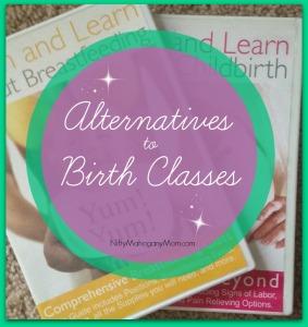 Alternatives to Birth Classes -- NiftyMahoganyMom.com